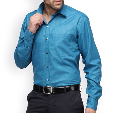 Copperline Cotton Rich Formal Shirt_CPL1164 - Aqua