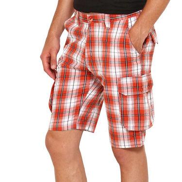 Wajbee Cotton Cargo Short For Men_Wca104 - Multicolor