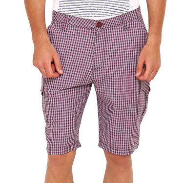 Wajbee Cotton Cargo Short For Men_Wma111 - Multicolor