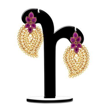 Spargz Paisely Design Pearl Earring_Aier375 - Multicolor