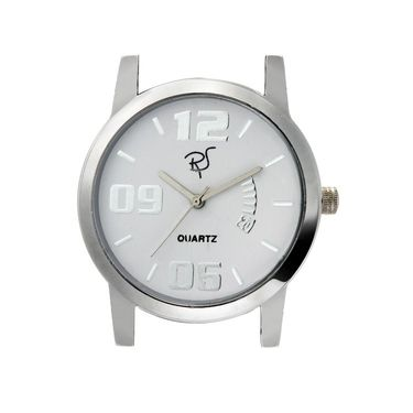 Rico Sordi Analog Round Dial Watch For Men_Rsmwl84 - White