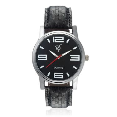 Rico Sordi Analog Round Dial Watch For Men_Rsmwl85 - Black