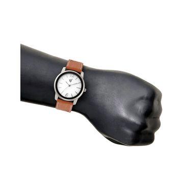 Rico Sordi Analog Round Dial Watch For Men_Rsmwl91 - White