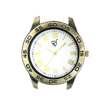 Rico Sordi Analog Round Dial Watch For Men_Rsmwl95 - White