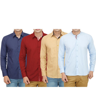 Pack of 4 Casual Shirts For Men_16181920