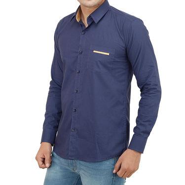 Branded Casual Shirt For Men_Nvp018 - Navy Blue