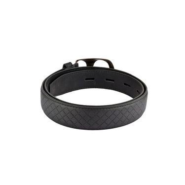Mango People Leatherite Casual Belt For Men_Mp108bk - Black