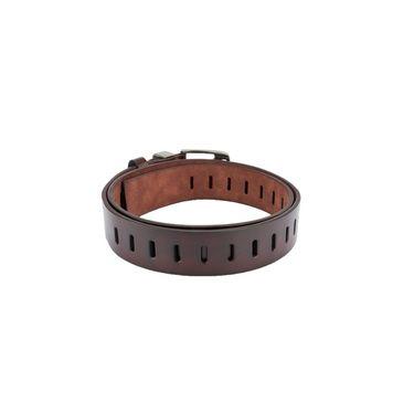 Swiss Design Leatherite Casual Belt For Men_Sd04br - Brown