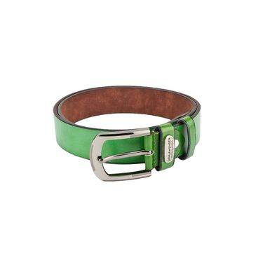 Swiss Design Leatherite Casual Belt For Men_Sd06gr - Green