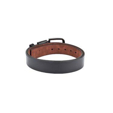 Swiss Design Leatherite Casual Belt For Men_Sd08blk - Black