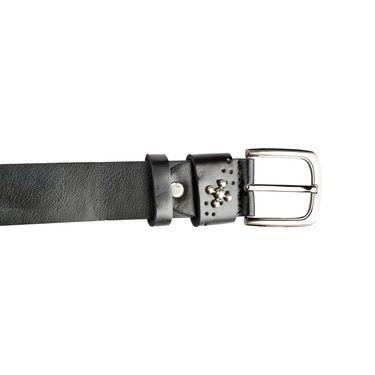 Swiss Design Leatherite Casual Belt For Men_Sd117blk - Black