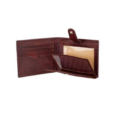 Swiss Design Stylish Wallet For Men_Sdw70652br - Brown