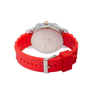 Mango People Round Dial Watch For Women_MP042 - White