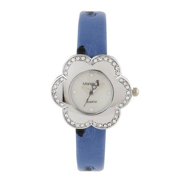 Mango People Round Dial Watch For Women_MP206BL01 - White