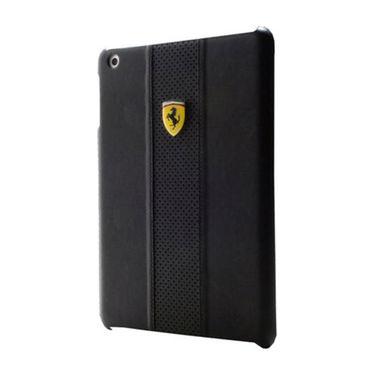 Ferrari FECHFPSHCMP Back Cover For iPad Mini (Black)