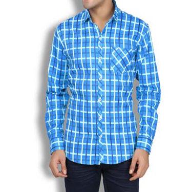 Brohood Slim Fit Full Sleeve Cotton Shirt For Men_A50123 - Multicolor