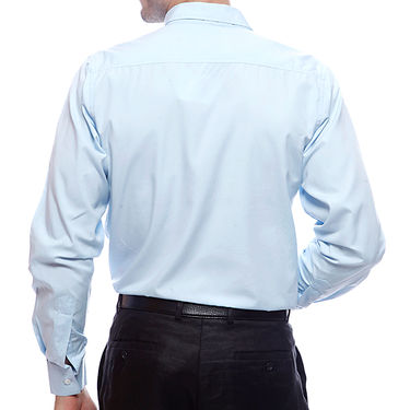 Mind The Gap Full Sleeves Shirt For Men_S7162 - Sky Blue