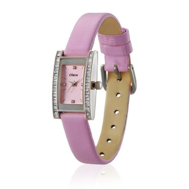 Oleva Analog Wrist Watch For Women_Olw5sp - Silver & Pink