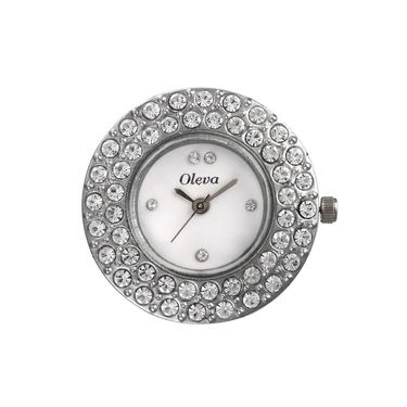 Oleva Analog Wrist Watch For Women_Olw16w - White