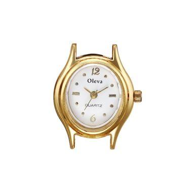 Oleva Analog Wrist Watch For Women_Opw1g - White