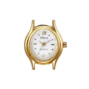 Oleva Analog Wrist Watch For Women_Opw11wo - White