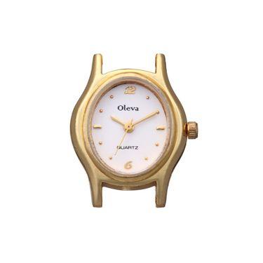 Oleva Analog Wrist Watch For Women_Opw71 - White