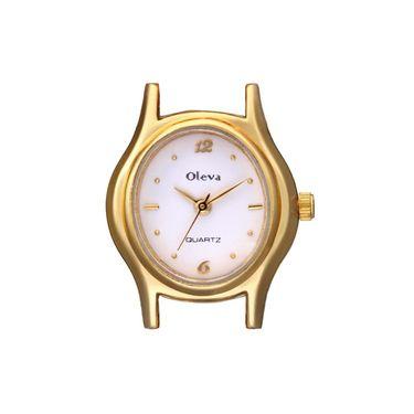 Oleva Analog Wrist Watch For Women_Opw86 - White