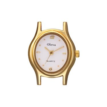 Oleva Analog Wrist Watch For Women_Opw89 - White