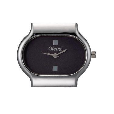 Oleva Analog Wrist Watch For Women_Osw15b - Black
