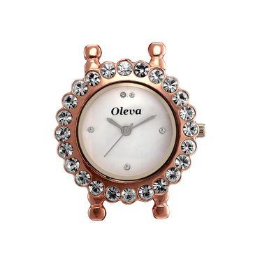 Oleva Analog Wrist Watch For Women_Osw18c - Copper