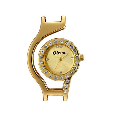 Oleva Analog Wrist Watch For Women_Osw19g - Golden