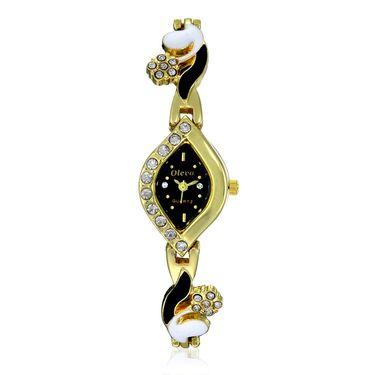 Oleva Analog Wrist Watch For Women_Osw25gb - Black