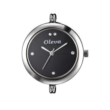 Oleva Analog Wrist Watch For Women_Osw26sb - Black