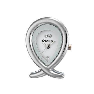 Oleva Analog Wrist Watch For Women_Opuw35w - White