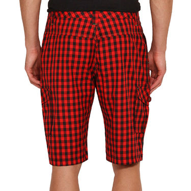 Pack of 2 Wajbee Cotton Cargo Shorts For Men_Combo3