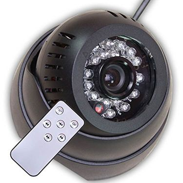 ZINGALALAA Remote Micro Sd TF Card Security Video Camera Dvr Dome Led Night Vision 24 IR - ST CM 05