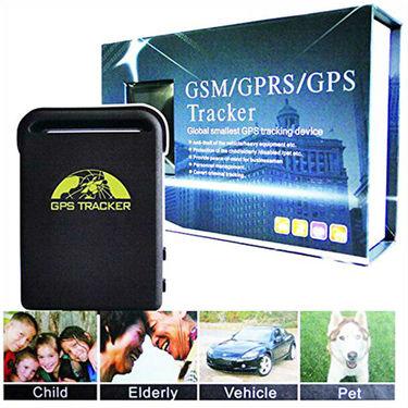 ZINGALALAA Smallest Mini Quad Band Personal GPS Tracker TK102