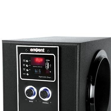 Envent Deejay Rock+ BT-5.1 Bluetooth Home Audio Speaker ( Black )