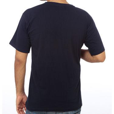 Delhi Seven Round Neck Cotton Tshirt For Men