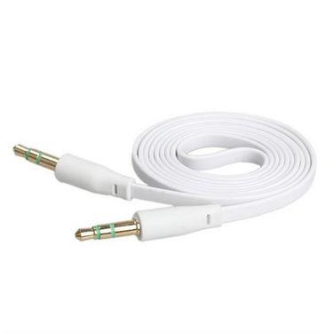 Flashmob Premium Aux Cable - White