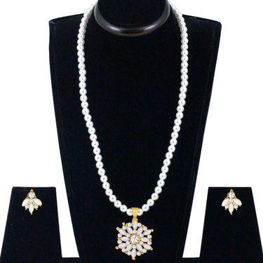 Spargz Alloy Metal Necklace Set_Ains121