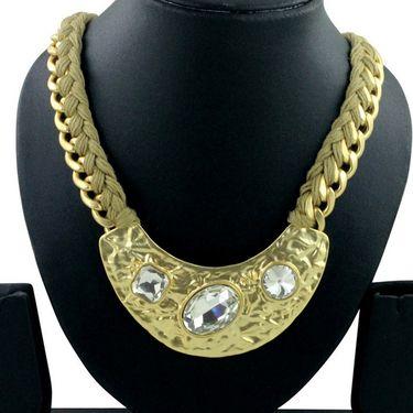 Spargz Alloy Metal Necklace_Mala058