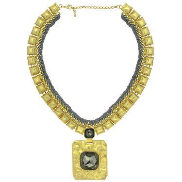 Spargz Alloy Metal Necklace_Mala064
