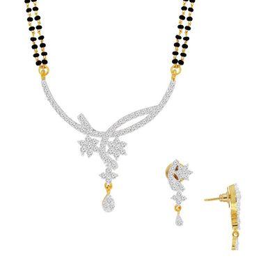 Spargz Brass Metal Mangalsutra Set_Aims056