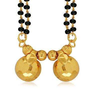 Spargz Brass Metal Mangalsutra Set_Aims086