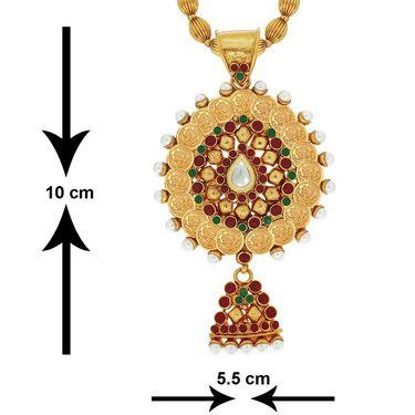 Spargz Brass Metal Pendant Set_Aips150