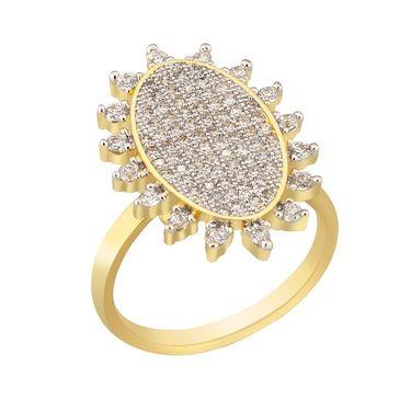 Spargz Brass Metal Finger Ring_Aifr034