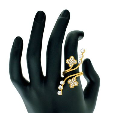Spargz Alloy Metal Finger Ring_Aifr039