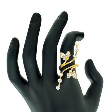 Spargz Alloy Metal Finger Ring_Aifr041