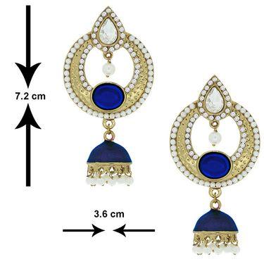 Spargz Alloy Metal Earring_Aier178